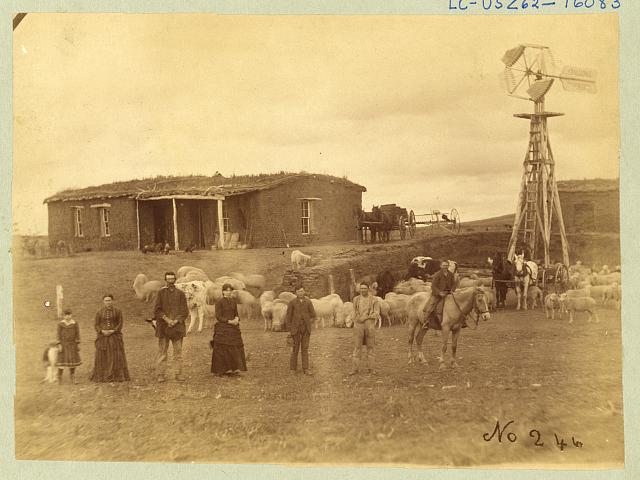 Today in wyoming 39 s history january 1 new years day for Kansas homestead act