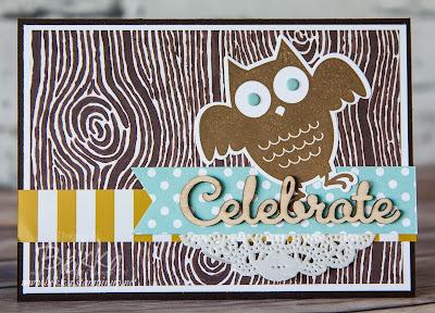 Howl-o-Ween Owl Birthday Celebration Card