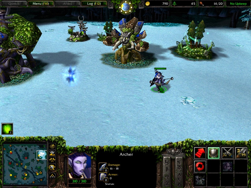 Warcraft 3 by sparkenstein