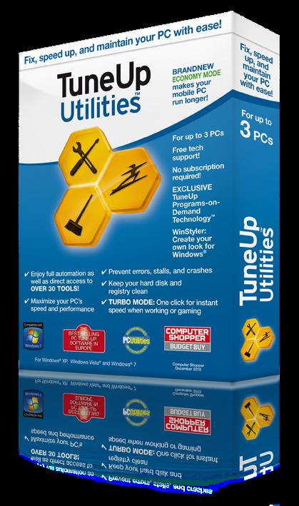 Tuneup Utilities 2013 V13.0.2013.194 TuneUp Utilities 2012 Box Image