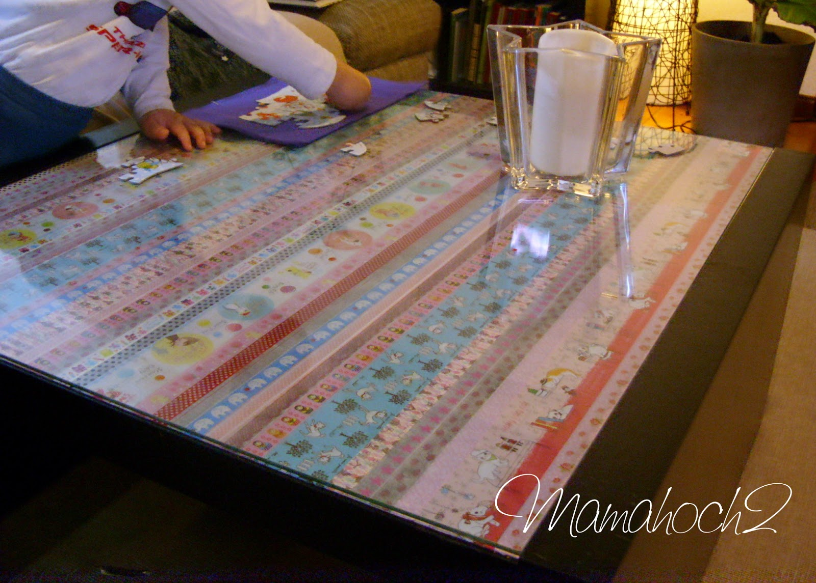 Upcycling Tisch ~ Möbel upcycling  Masking Tape Ideen #1 Der Tisch  Mamahoch2