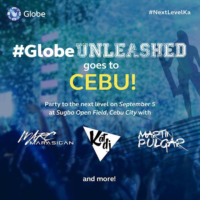 GlobeUnleashed Cebu poster