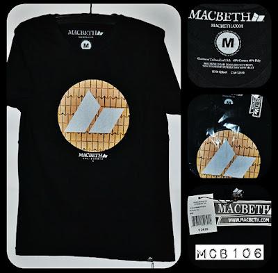 Kaos surfing skate MACBETH kode MCB106