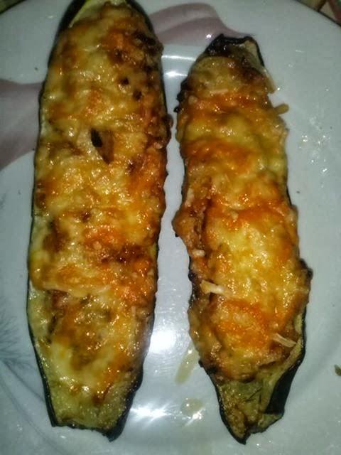 calabacines rellenos de atun del blog mi divina cocina - Cocina Divina