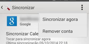 Como remover conta Google no Android