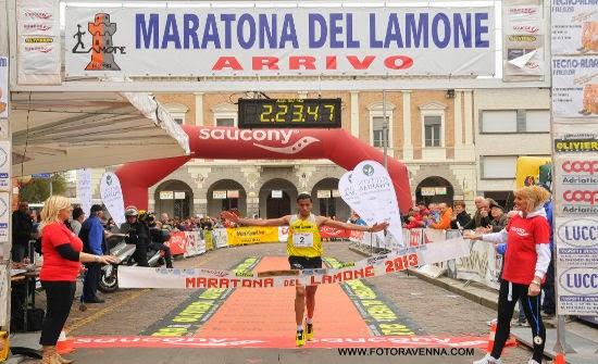 Maratona Arrivo 1° Uomo