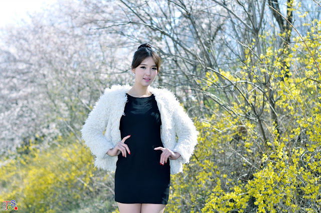 3 Choi Byeol Ha Outdoor  - very cute asian girl - girlcute4u.blogspot.com