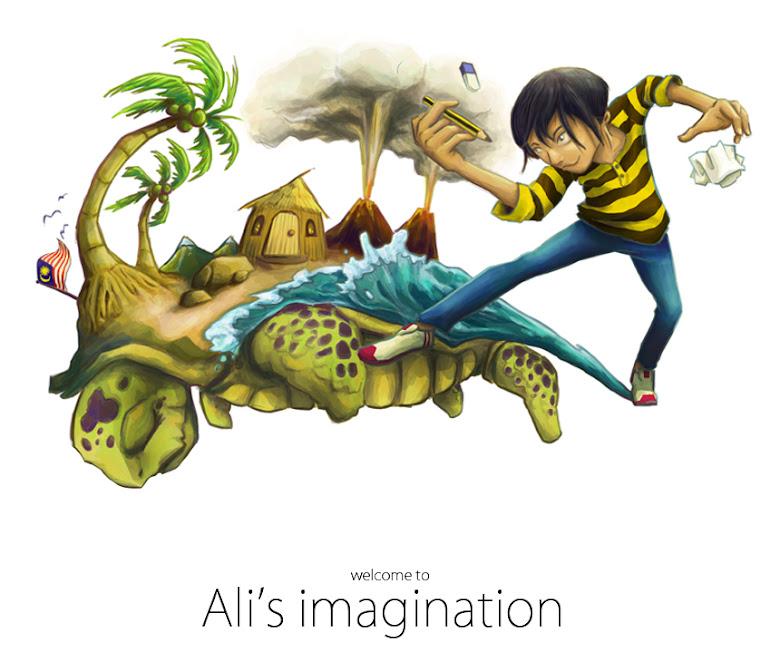 ali's imagination