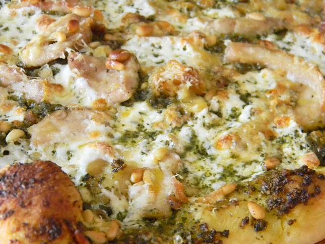Handcrafts and Cookery: Pinterest Project: Special Pesto Pizza