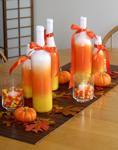 Ashbee Design: Candy Corn Centerpiece • With Help