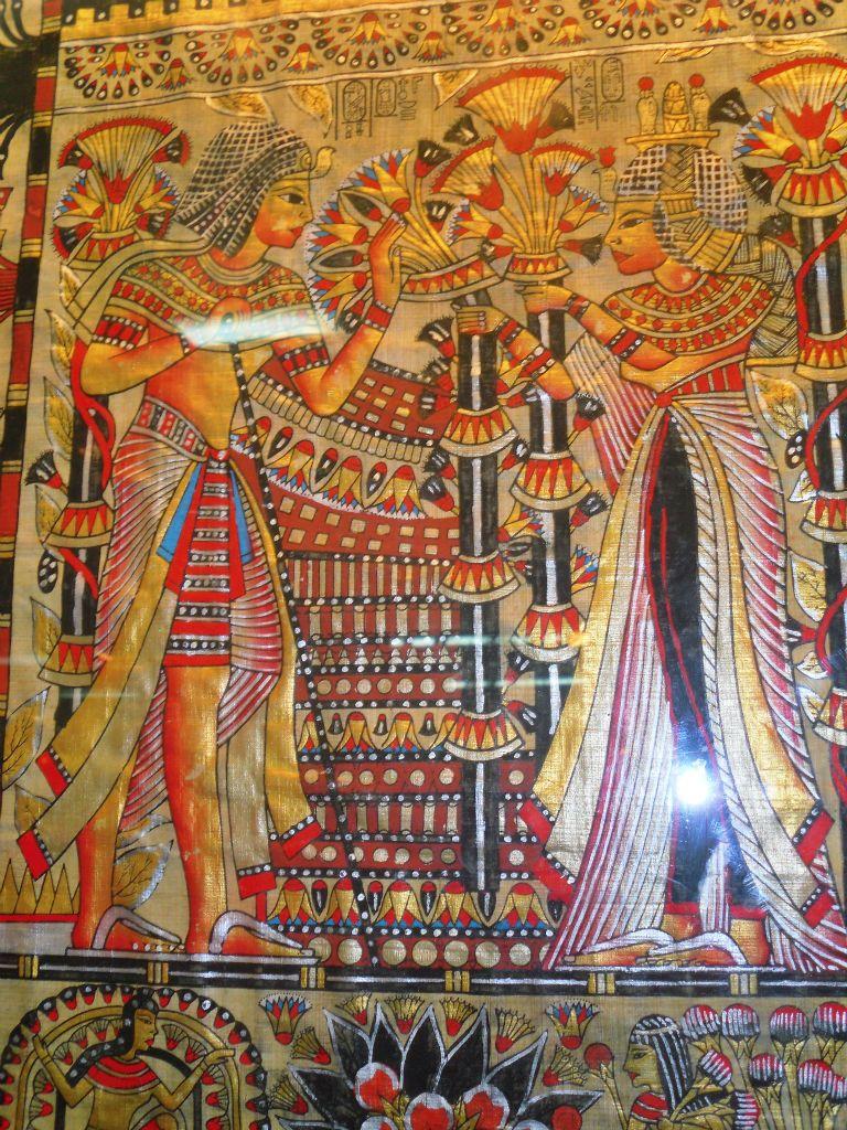 Papiros en Egipto