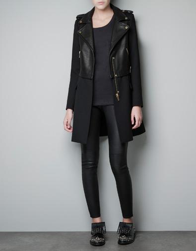 Biker Coat Zara
