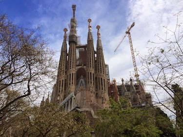 Chuck and Lori's Travel Blog - Sagrada Familia Church, Barcelona, Spain
