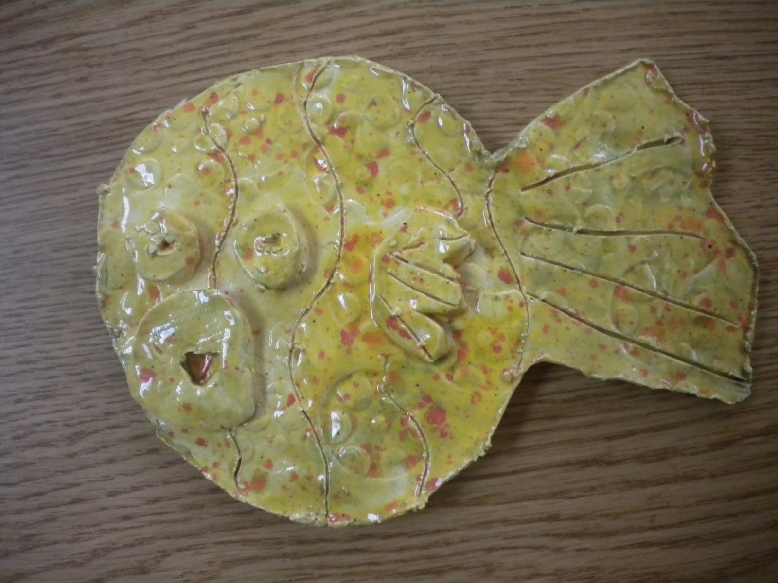 Mrs Pierce 39 S Polka Dot Spot Clay Pout Pout Fish