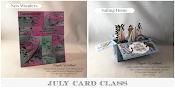 JULY CARD CLASS