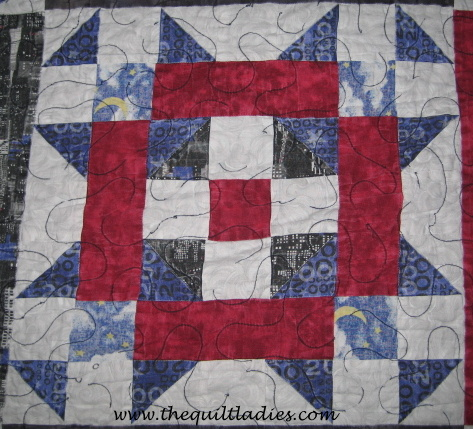 Easy Quilt Patterns For Graduation : The Quilt Ladies Book Collection: Free Simple Star Quilt Pattern Block of YOU