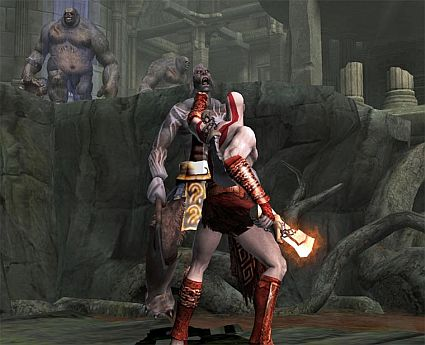 God of war 2 computer power for Soluzione giardini superiori god war 3