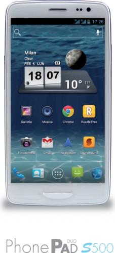 Il nuovo,smartphone/phablet di Mediacom con supporto al dual sim, android 4.2 e processore quad core Cortex A7
