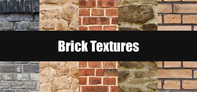レンガや石壁のフリーテクスチャー素材いろいろ。赤レンガや城壁など。