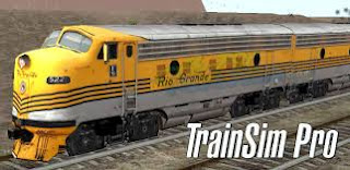 Android cracked game Train Sim Pro (APK) Full Data Free Download