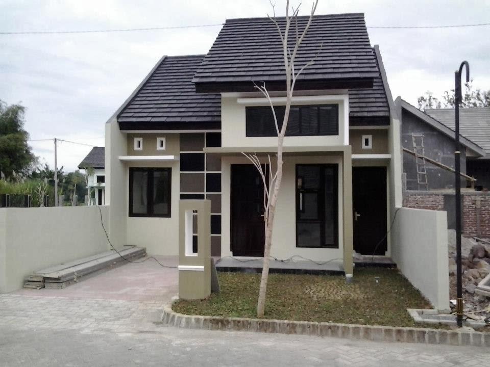 rumah minimalis sederhana type 36 cantik menawan gambar