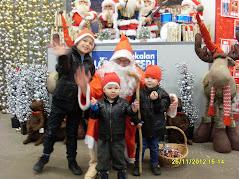 Suomen aito joulupukkipalvelu Tampereen talousalueella kaikkien lasten ja lastenmielisten ilona