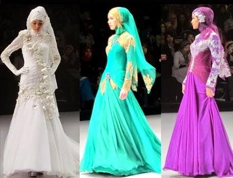 Gambar Model Baju Muslim Syahrini Modis