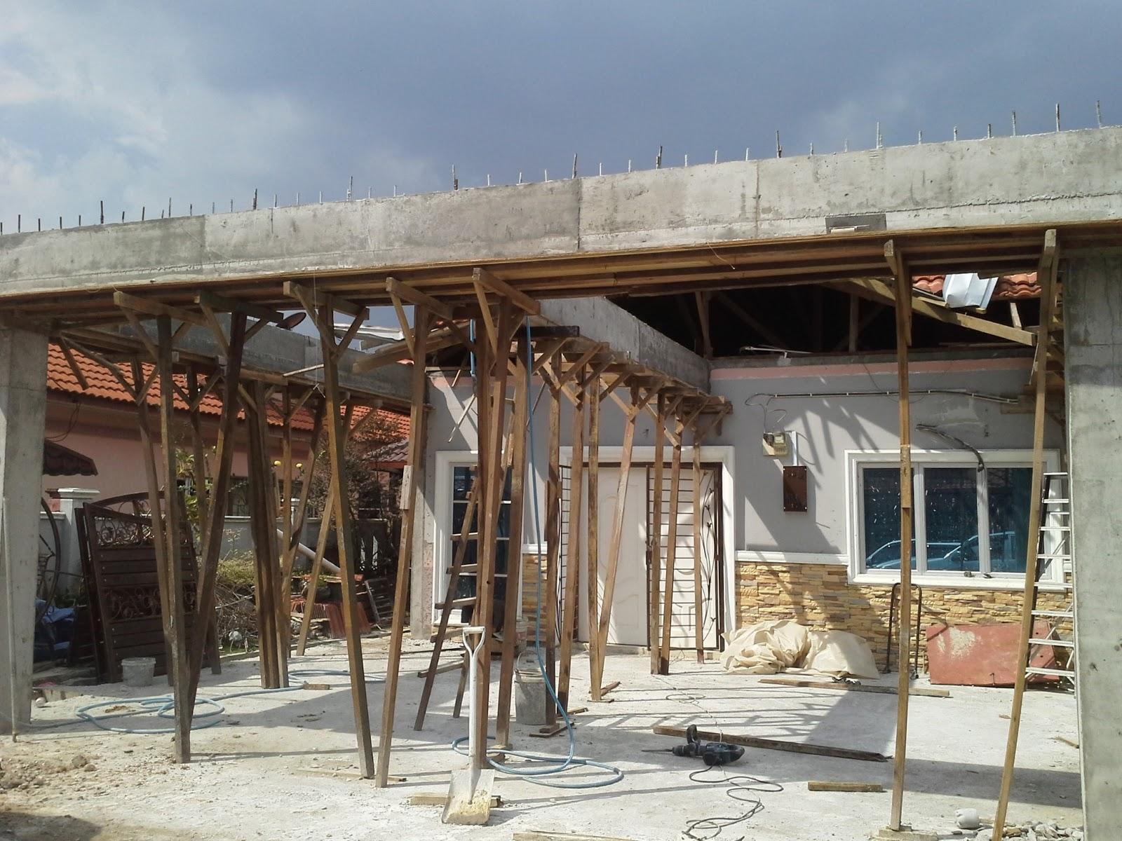 arada impressworks renovation rumah semi d di johan setia