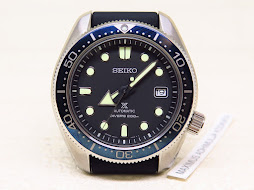 SEIKO DIVER BLACK DIAL BLUE BEZEL - SEIKO SPB079J1 - AUTOMATIC 6R15 - MINT CONDITION