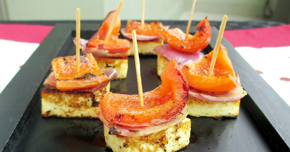 Mini Paneer Tikka Skewers