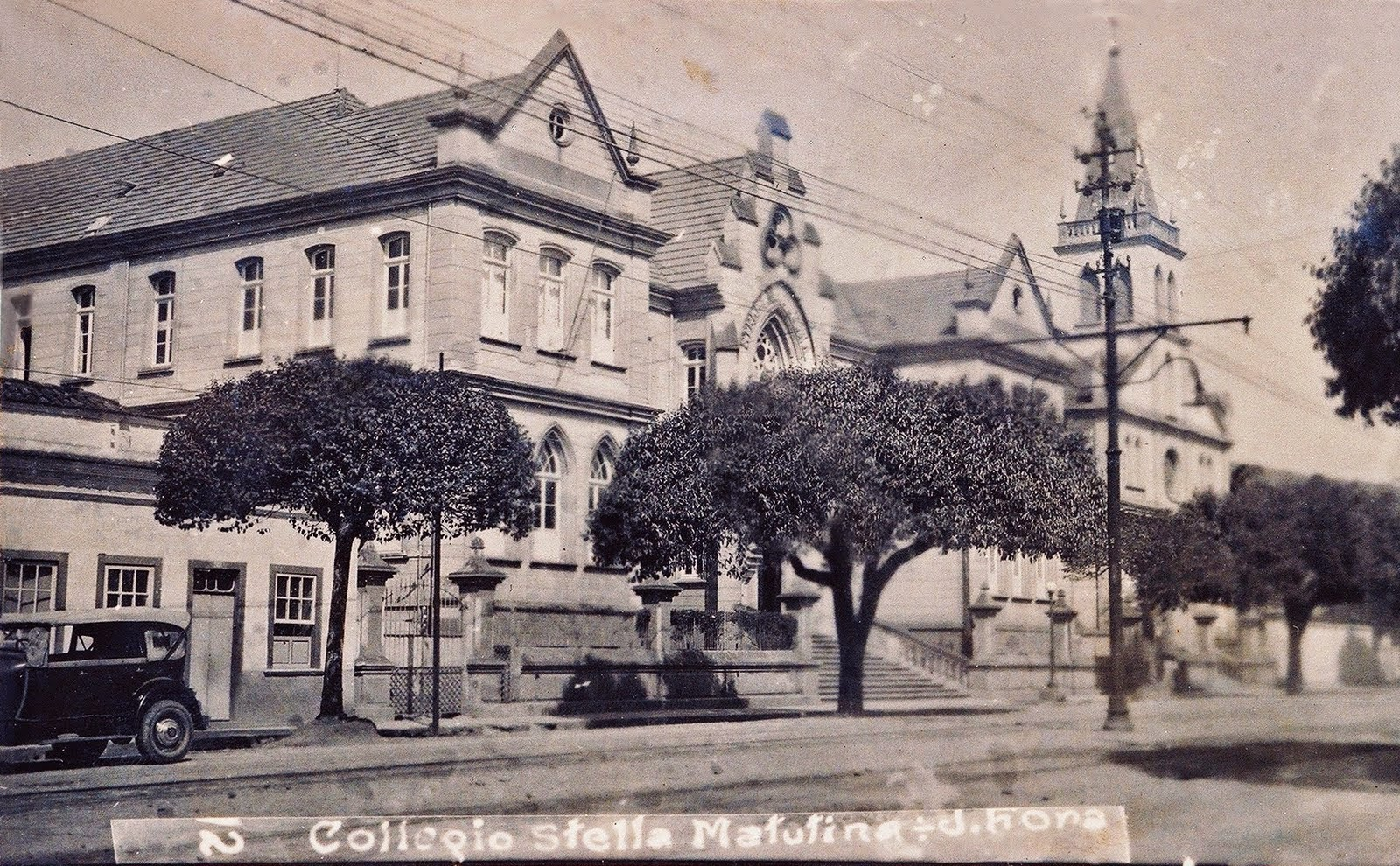 Colégio Stella Matutina em 1932 (Arquivo Ramon Brandão).
