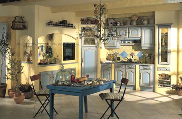 Magnífico Muebles De Cocina Francesa Provincial Colección de ...