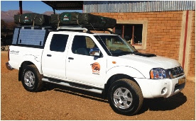 Namvic Namibia fleet of vehicles
