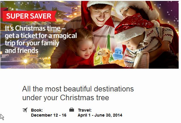 Navidad Riga Air Baltic