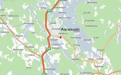 Äänekosken Kartta Kaupunki