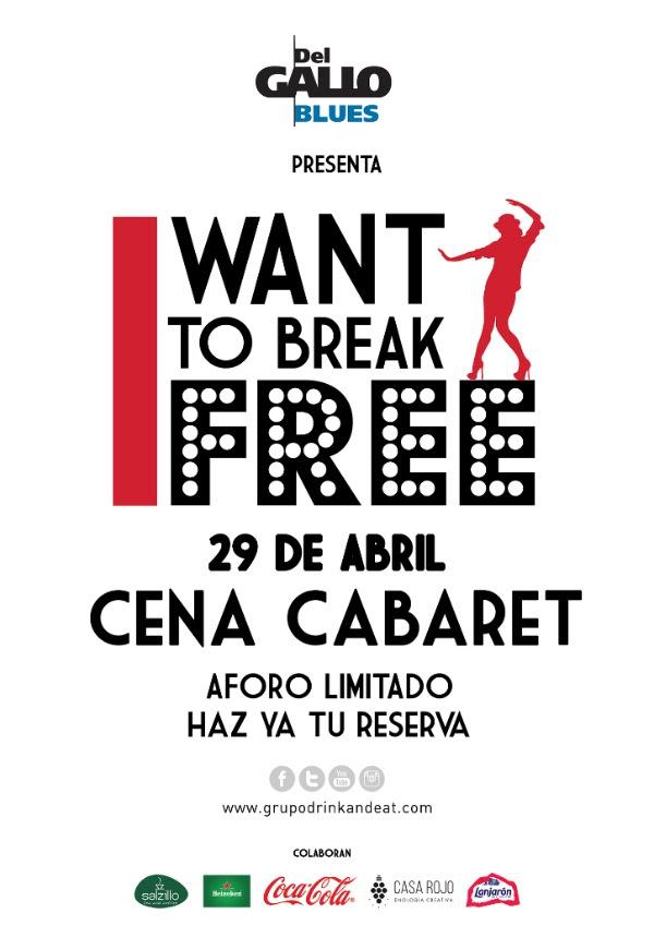 """""""I Want To Be Free"""", cena cabaret en DelGalloBlues."""