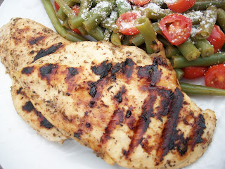 Grilled Balsamic Marinated Chicken and Al Fresco Green Bean and Tomato ...