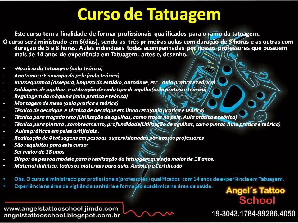 Curso Tatuagem Campinas