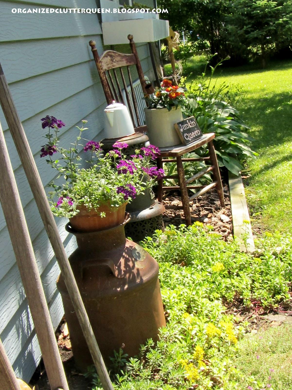 My Top Flower Junk Garden Posts Of 2012 Organized Clutter
