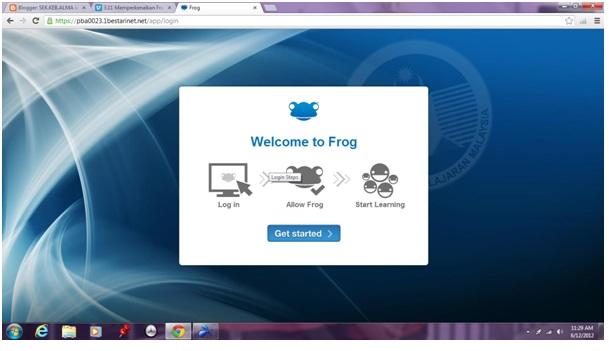 Latihan Frog VLE - Pelajar | SEK.KEB.ALMA JAYA