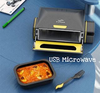 Microondas usb para escritório