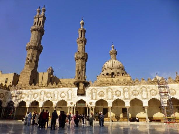 Mezquita de Al-Azhar.