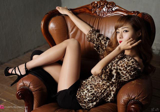 4 Seo Jin Ah - Sexy Leopard-Very cute asian girl - girlcute4u.blogspot.com