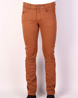 Pantaloni Zara Barbati Chet Orange-Brown (Z )