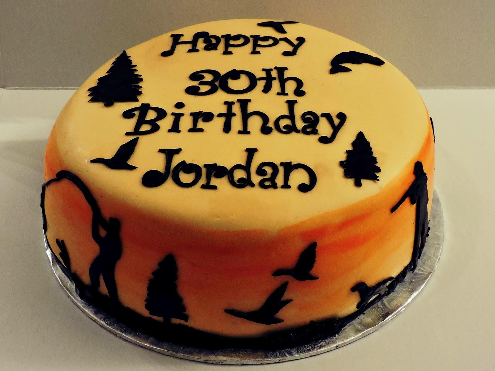 Cakesor Something Like That 30th Birthday Hunting Cake