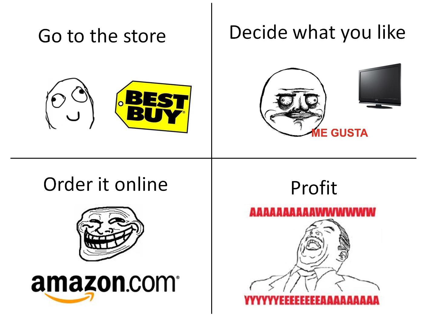 amazon best buy showroom