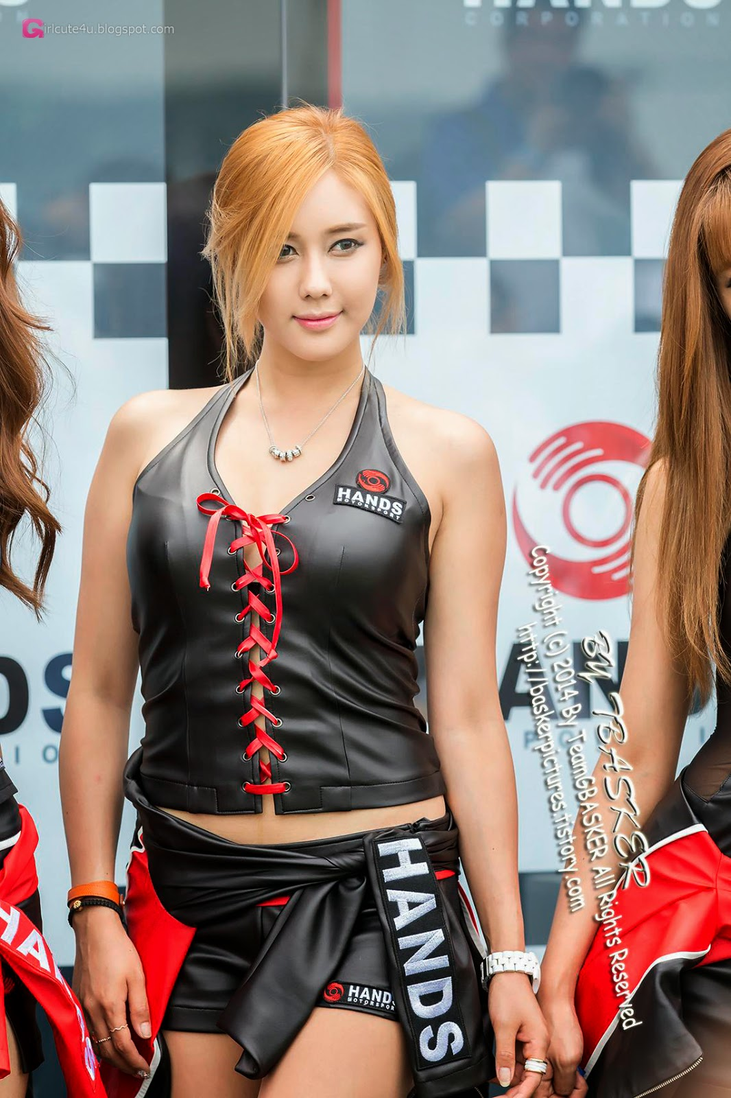 4 Kim Ha Yul - Korea Speed Festival 2014 - very cute asian girl-girlcute4u.blogspot.com