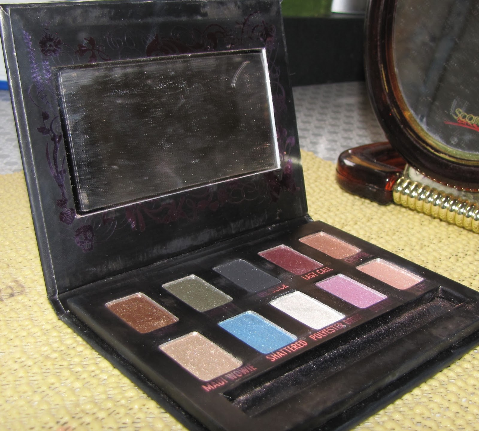 urban decay ammo palette � swatches and review glam n gloss