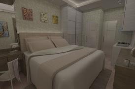 Jasa Desain Kamar tidur apartemen