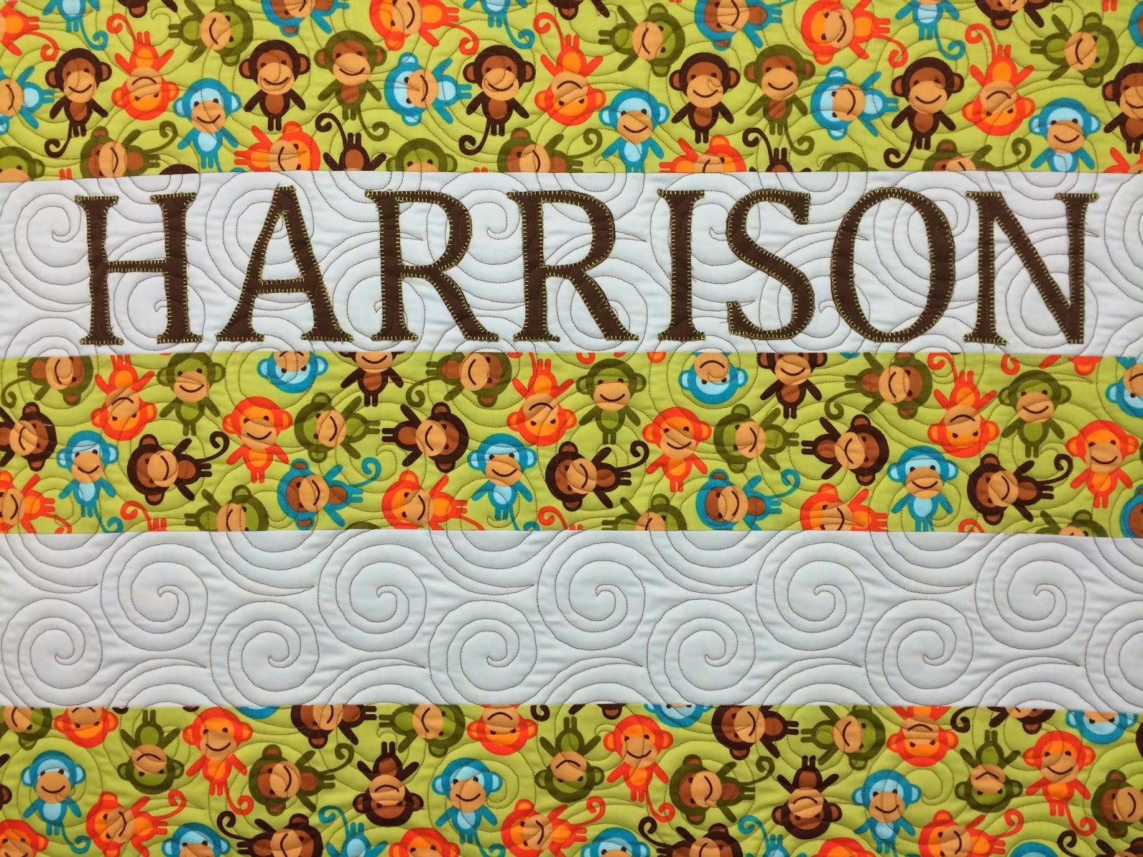Chris Olsen Baby Harrison Quilt